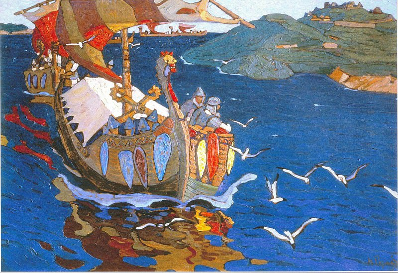 Overseas away. Roerich N.K. (Part 1)