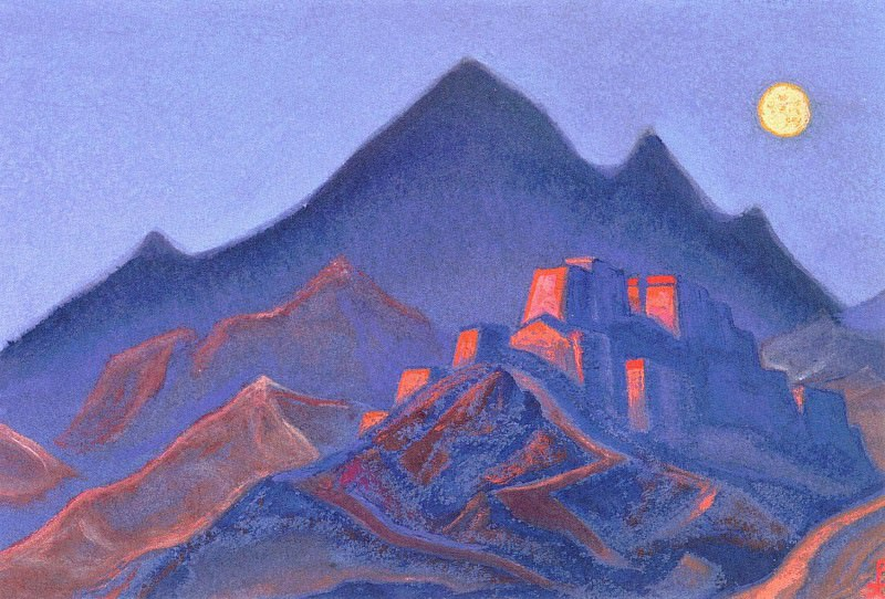 The Himalayas (Etude) (03). Roerich N.K. (Part 1)