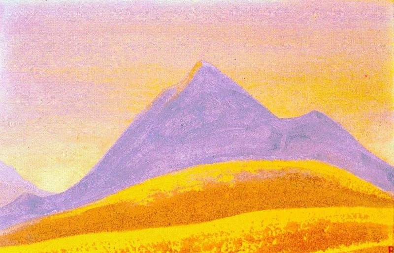 The Himalayas (Etude) (20). Roerich N.K. (Part 1)