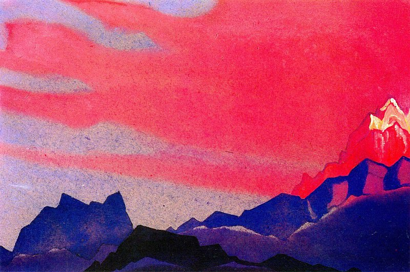 The Himalayas (Etude) (19). Roerich N.K. (Part 1)