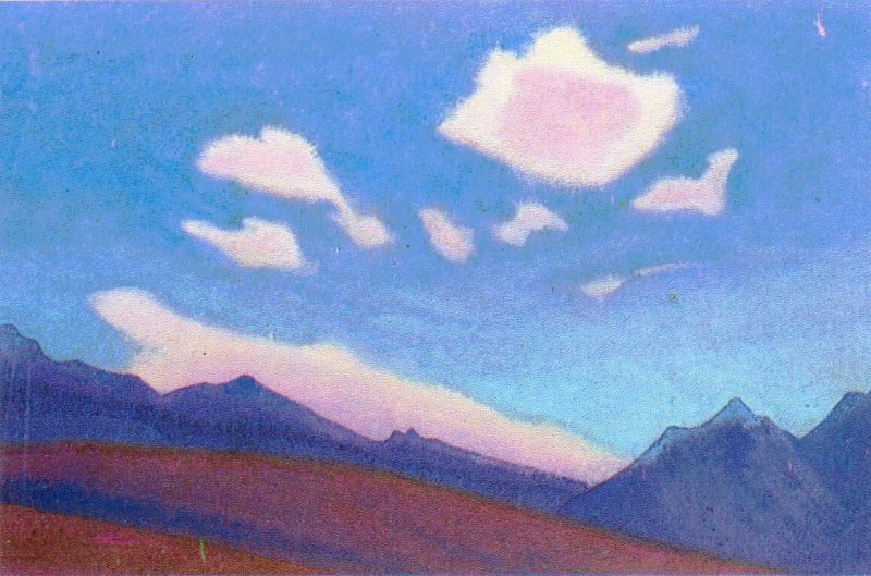 The Himalayas (Etude) (05). Roerich N.K. (Part 1)