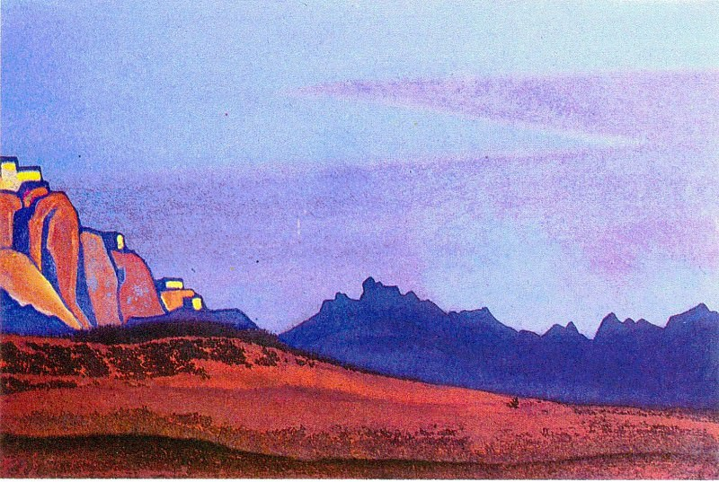 The Himalayas (Etude) (21). Roerich N.K. (Part 1)