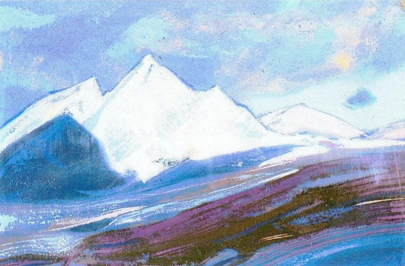 The Himalayas (Etude) (10). Roerich N.K. (Part 1)