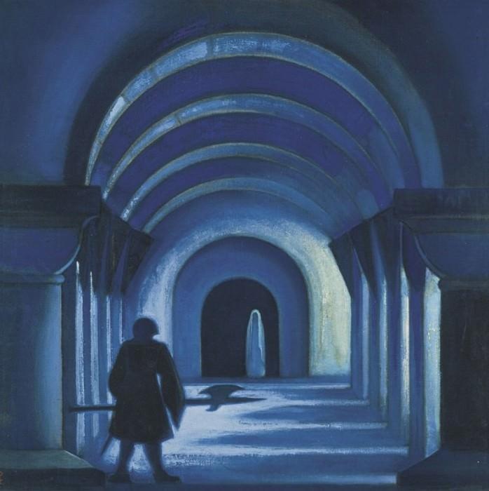 Chapel. Roerich N.K. (Part 1)