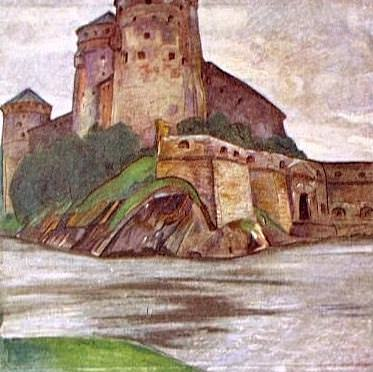Nyslott. Olavinlinna. Roerich N.K. (Part 1)