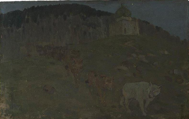 Wolf. Roerich N.K. (Part 1)
