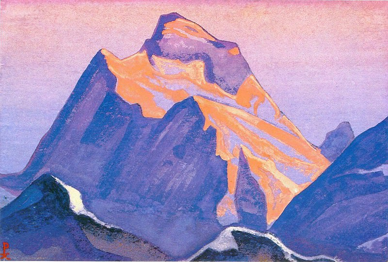 The Himalayas (Etude) (08). Roerich N.K. (Part 1)