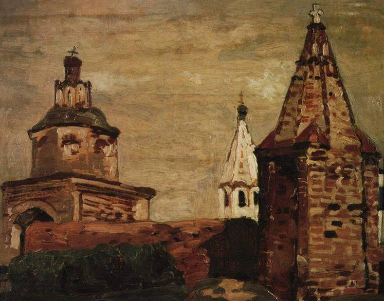 Suzdal. Monastery Alexander Nevsky. Roerich N.K. (Part 1)