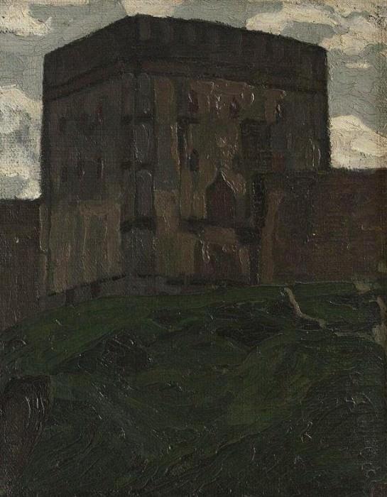 Smolensk. Tower (Watchtower). Roerich N.K. (Part 1)