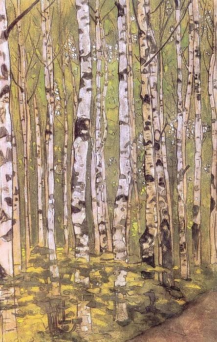 Birches. Roerich N.K. (Part 1)