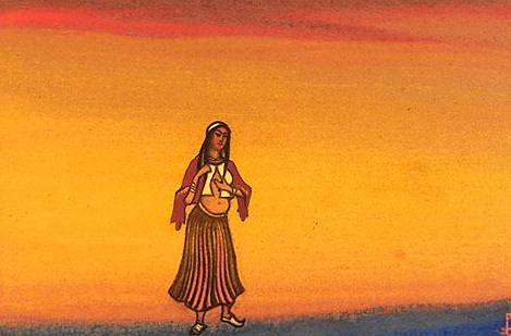 Captive # 88 (Polonyanka). Roerich N.K. (Part 6)