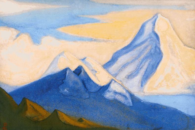The Himalayas # 115 On the Far Frontier. Roerich N.K. (Part 6)