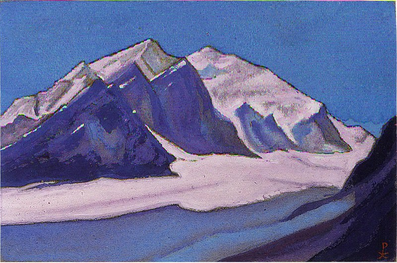The Himalayas # 167. Roerich N.K. (Part 6)