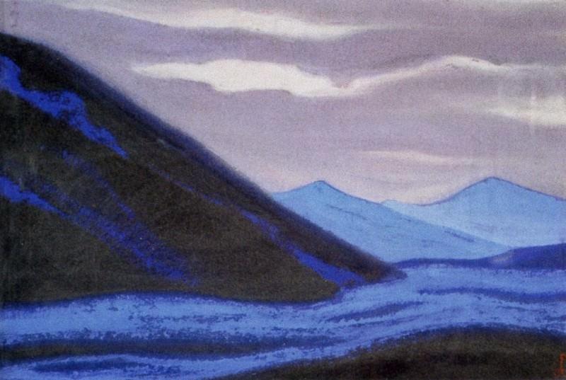 86 Himalaya # ridge. Roerich N.K. (Part 6)