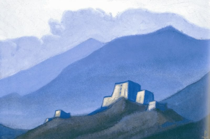 Tibet # 71 (Tibet. Castle Mountain). Roerich N.K. (Part 6)