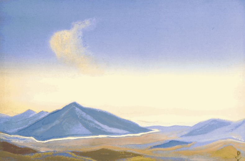 The Himalayas # 4 To the Protected Country. Roerich N.K. (Part 6)