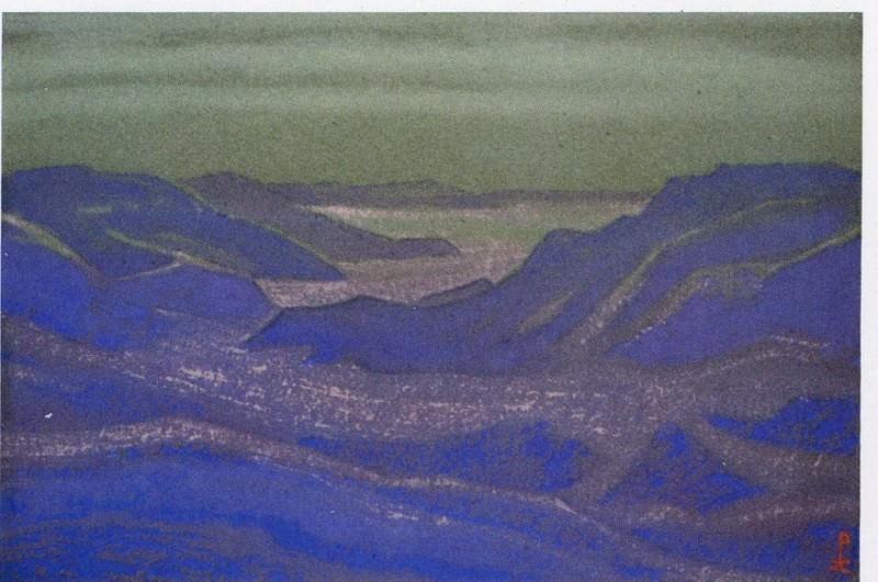 Gob # 36 (Purple Mountain). Roerich N.K. (Part 6)