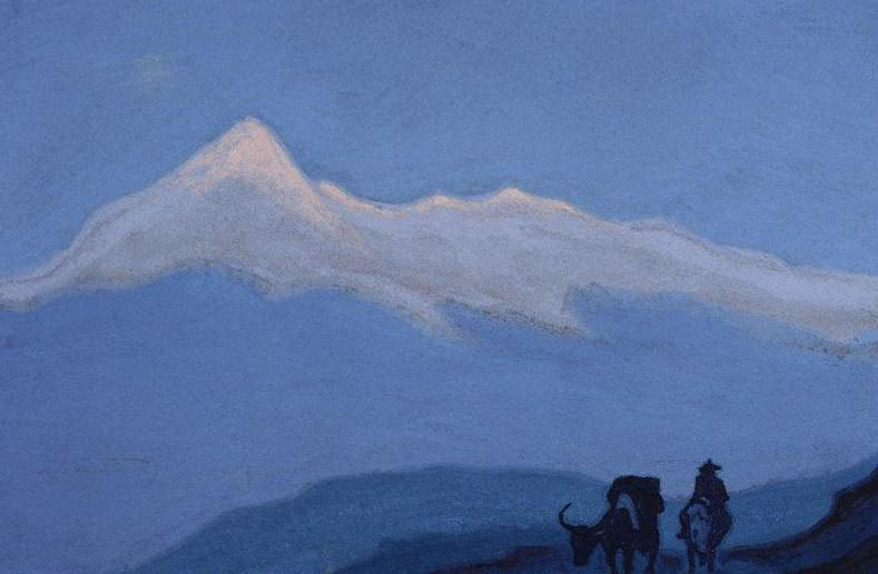The lonely traveler. Roerich N.K. (Part 6)