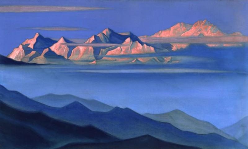 Kanchenjunga. Roerich N.K. (Part 6)