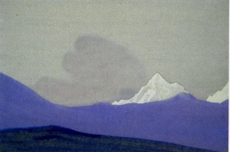 Гималаи #70 Блистающий горный пик. Рерих Н.К. (Часть 6)