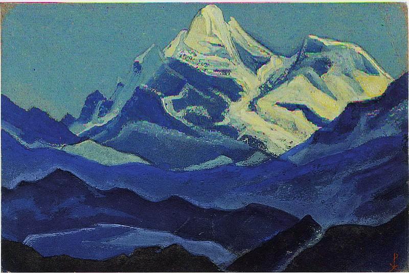Himalayas # 5. Roerich N.K. (Part 6)