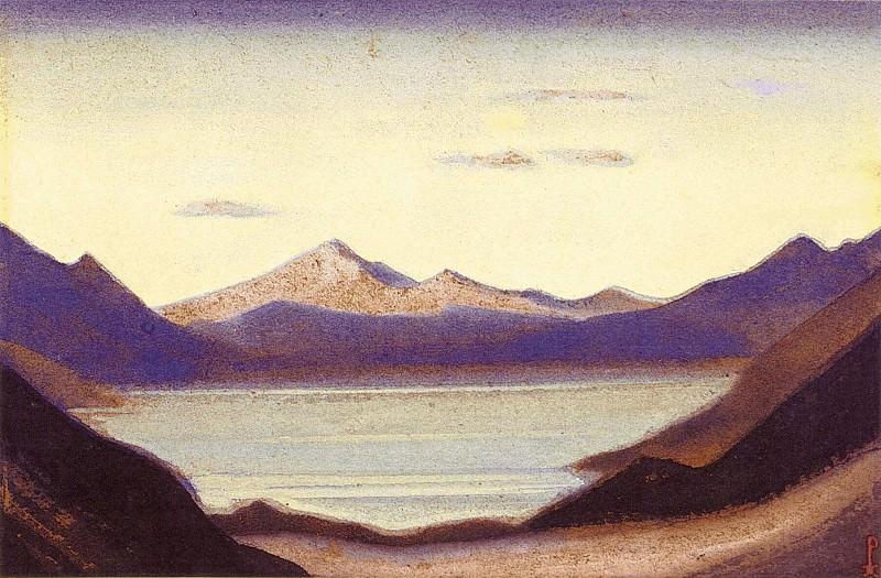Ям-дзо #40 (Гималайский пейзаж). Рерих Н.К. (Часть 6)