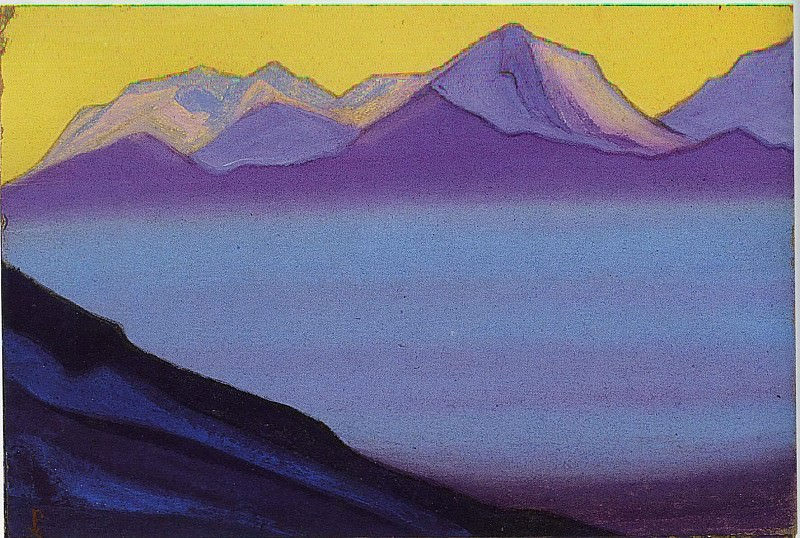 The Himalayas # 104. Roerich N.K. (Part 6)