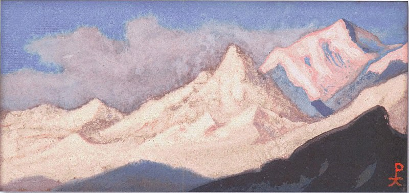 The Himalayas (White Kingdom) # 161. Roerich N.K. (Part 6)