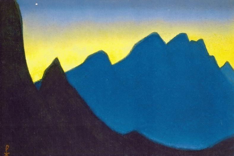 Evening # 83 Evening (first star). Roerich N.K. (Part 6)