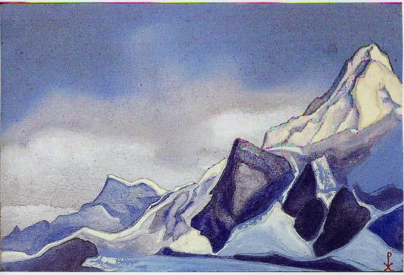 Himalayas # 9. Roerich N.K. (Part 6)