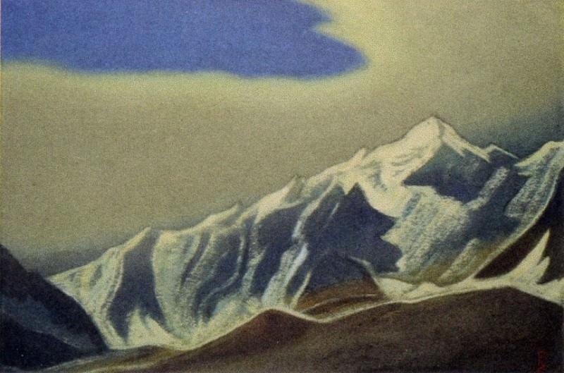 Гималаи #34 Туча над вершинами. Рерих Н.К. (Часть 6)