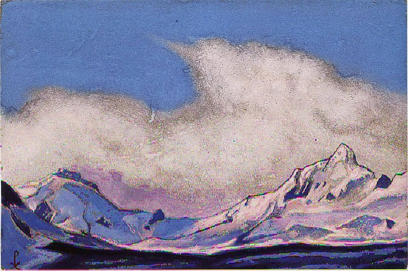 The Himalayas Central. Roerich N.K. (Part 6)