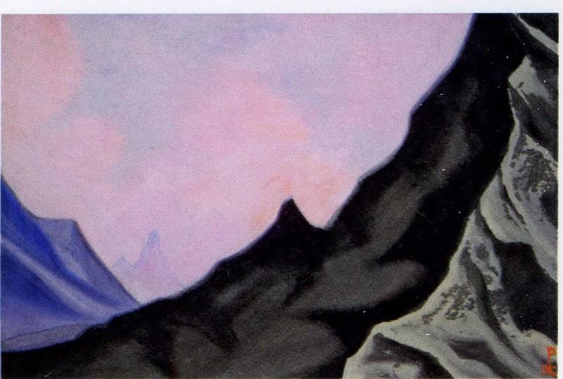 Himalayas # 8 spurs rocks. Roerich N.K. (Part 6)