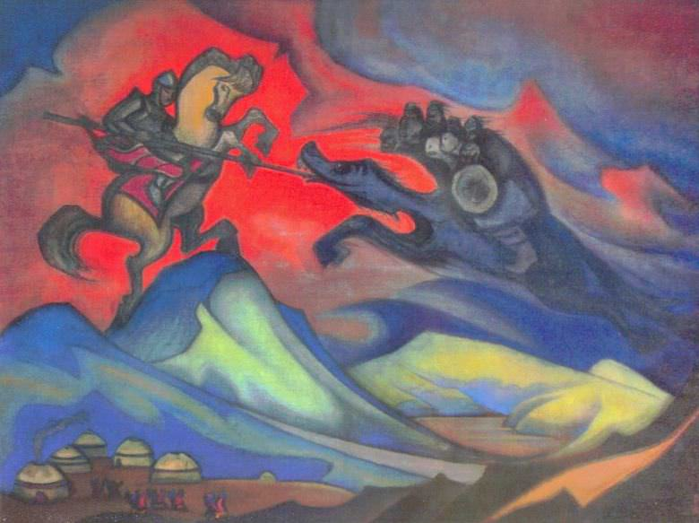 Бум-Эрдени (Монгольский героический эпос) #10. Рерих Н.К. (Часть 6)