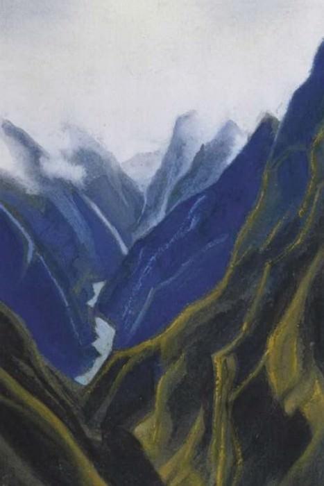 Gang # 99 Ganga (Gorge). Roerich N.K. (Part 6)