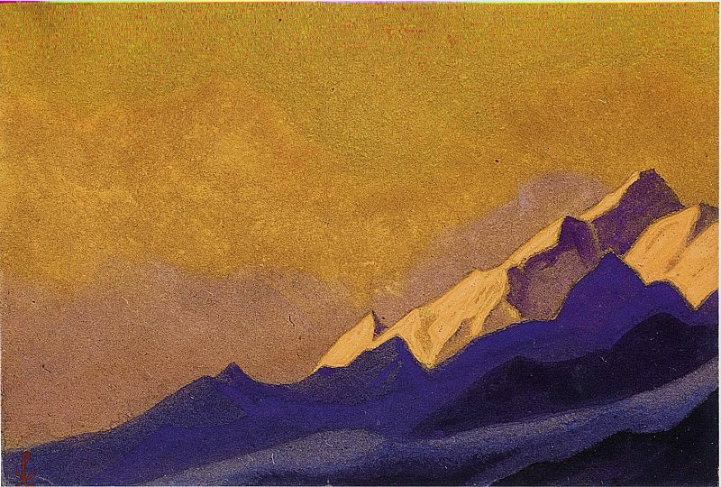 The Himalayas # 145. Roerich N.K. (Part 6)