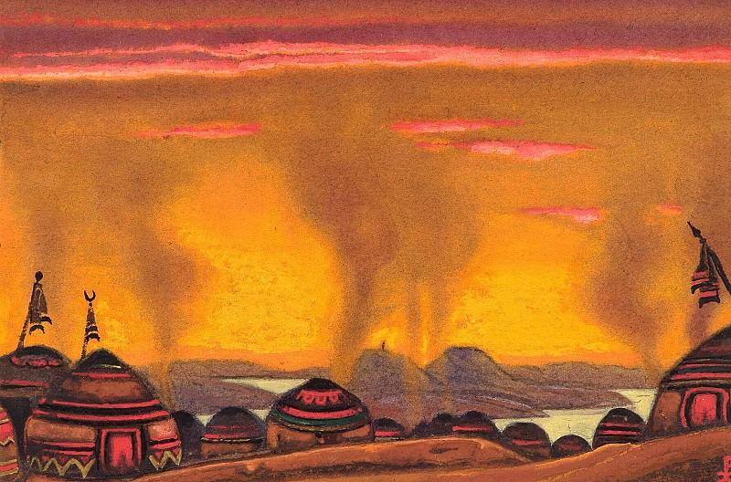 Polovetsky mill # 84. Roerich N.K. (Part 6)