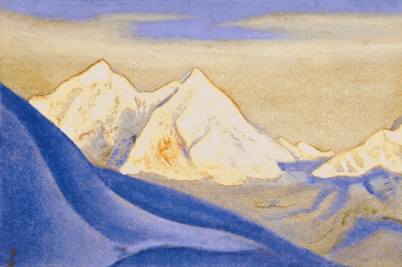 The Himalayas # 118 Ringing Beauty. Roerich N.K. (Part 6)