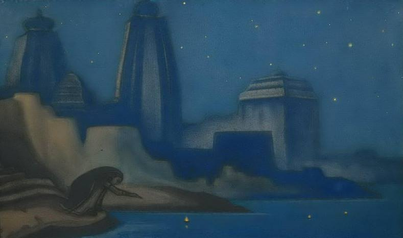 Lights on the Ganges # 18. Roerich N.K. (Part 6)