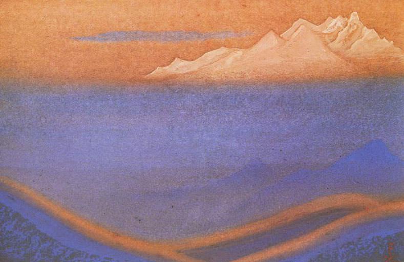 Гималаи #18 Горящие дали. Рерих Н.К. (Часть 6)