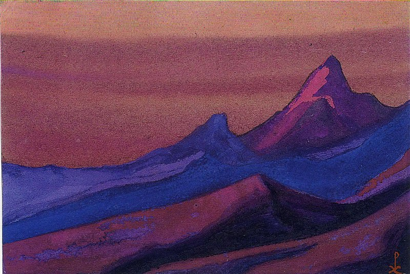 The Himalayas # 128. Roerich N.K. (Part 6)