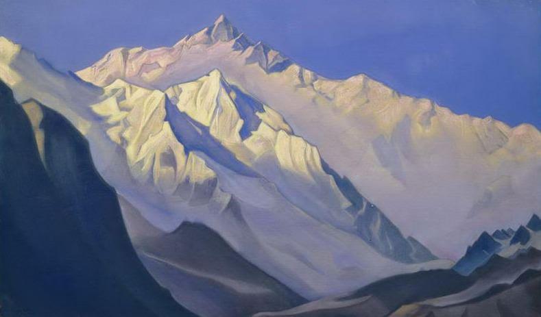 Гималаи. Нанда-Дэви. Рерих Н.К. (Часть 6)