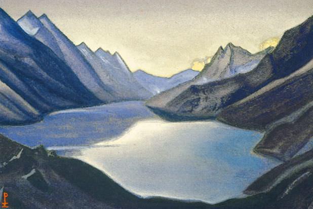 Озеро Нагов. Кашмир #9. Рерих Н.К. (Часть 6)