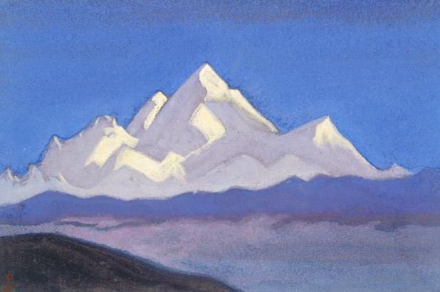 Everest # 72 Everest (Snow giant). Roerich N.K. (Part 6)