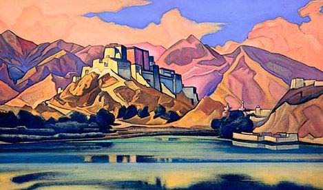 Stronghold (Lhasa) # 13. Roerich N.K. (Part 6)