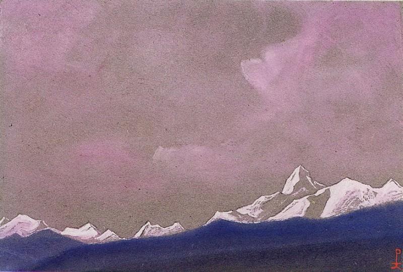 Nanda Devi. Roerich N.K. (Part 6)