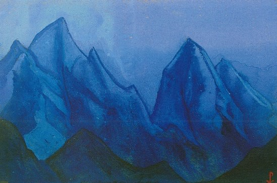The Himalayas # 106 The Sleeping Giants. Roerich N.K. (Part 6)