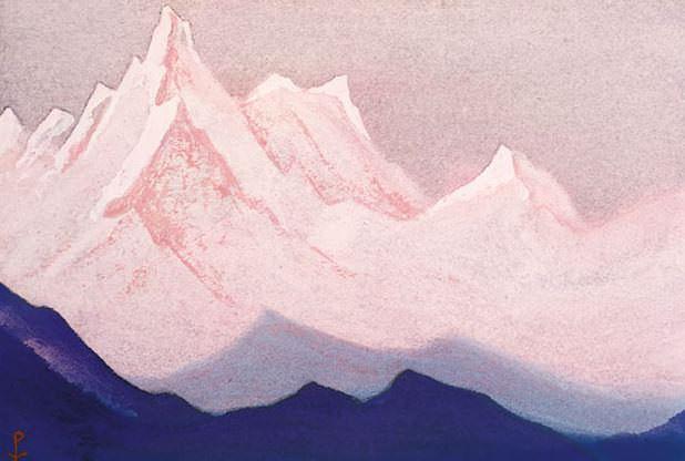 White Mountains # 98. Roerich N.K. (Part 6)