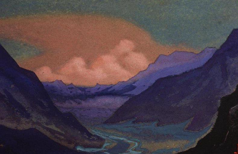Himalayas. Roerich N.K. (Part 6)
