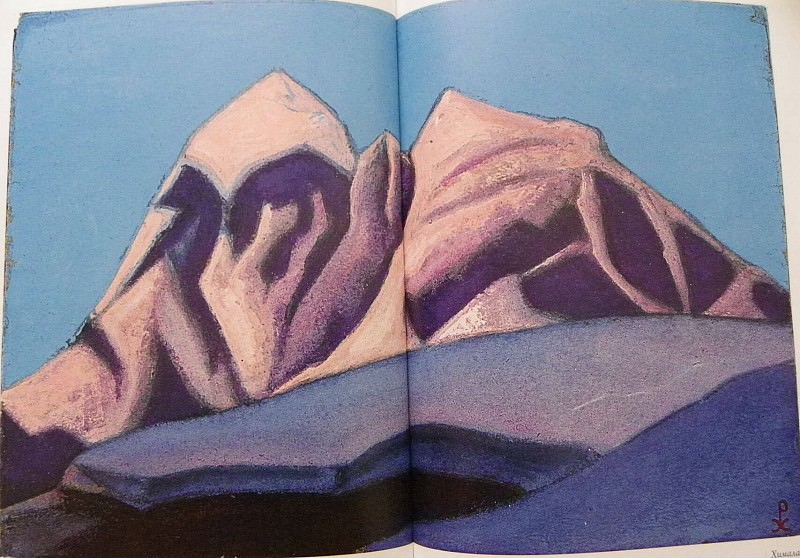 Himalayas. Roerich N.K. (Part 6)
